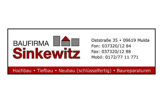 Baufirma Sinkewitz
