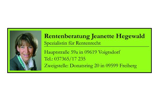 Rentenberaterin Hegewald